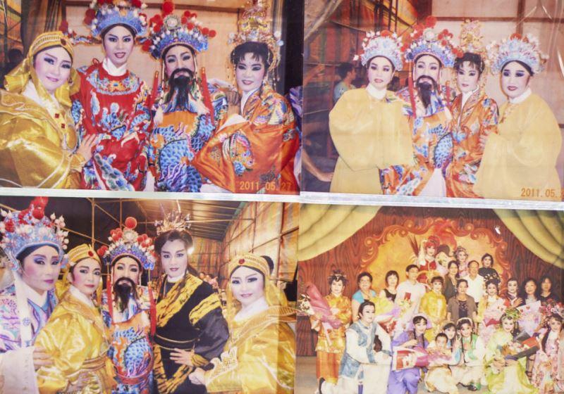 洪明雪搬戲的一生,也是臺灣歌仔戲的演進史。