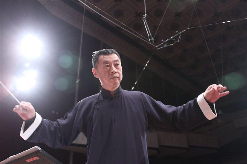 指揮家蘇文慶先生。