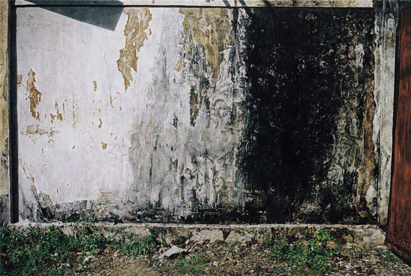 卓有瑞〈峇里島系列 V〉1990 壓克力顏料、畫布 123.5×184.5 cm