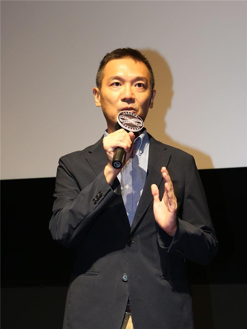 國家電影中心執行長陳斌全說明數位修復電影