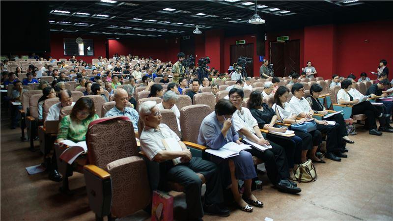 國家語言發展法(草案)公聽會現場