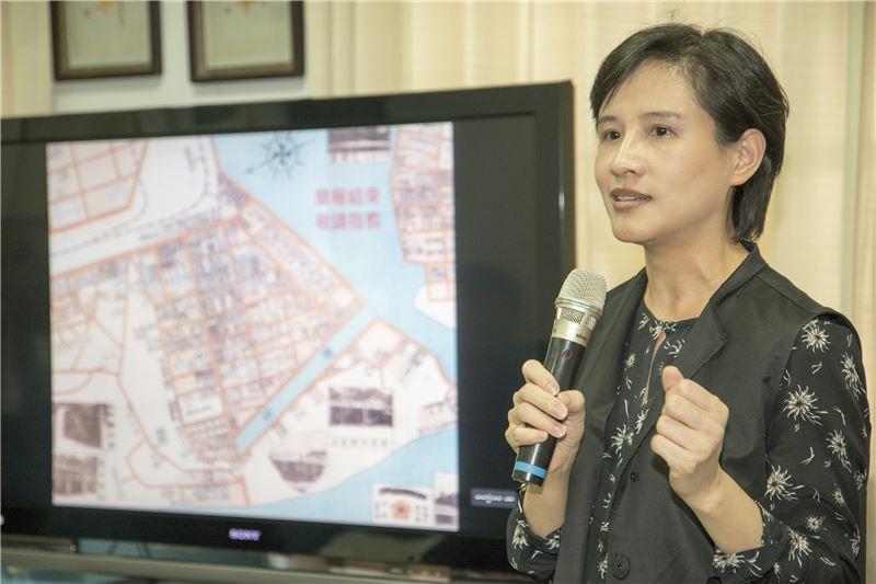 文化部長鄭麗君訪視高雄市再造歷史現場計畫