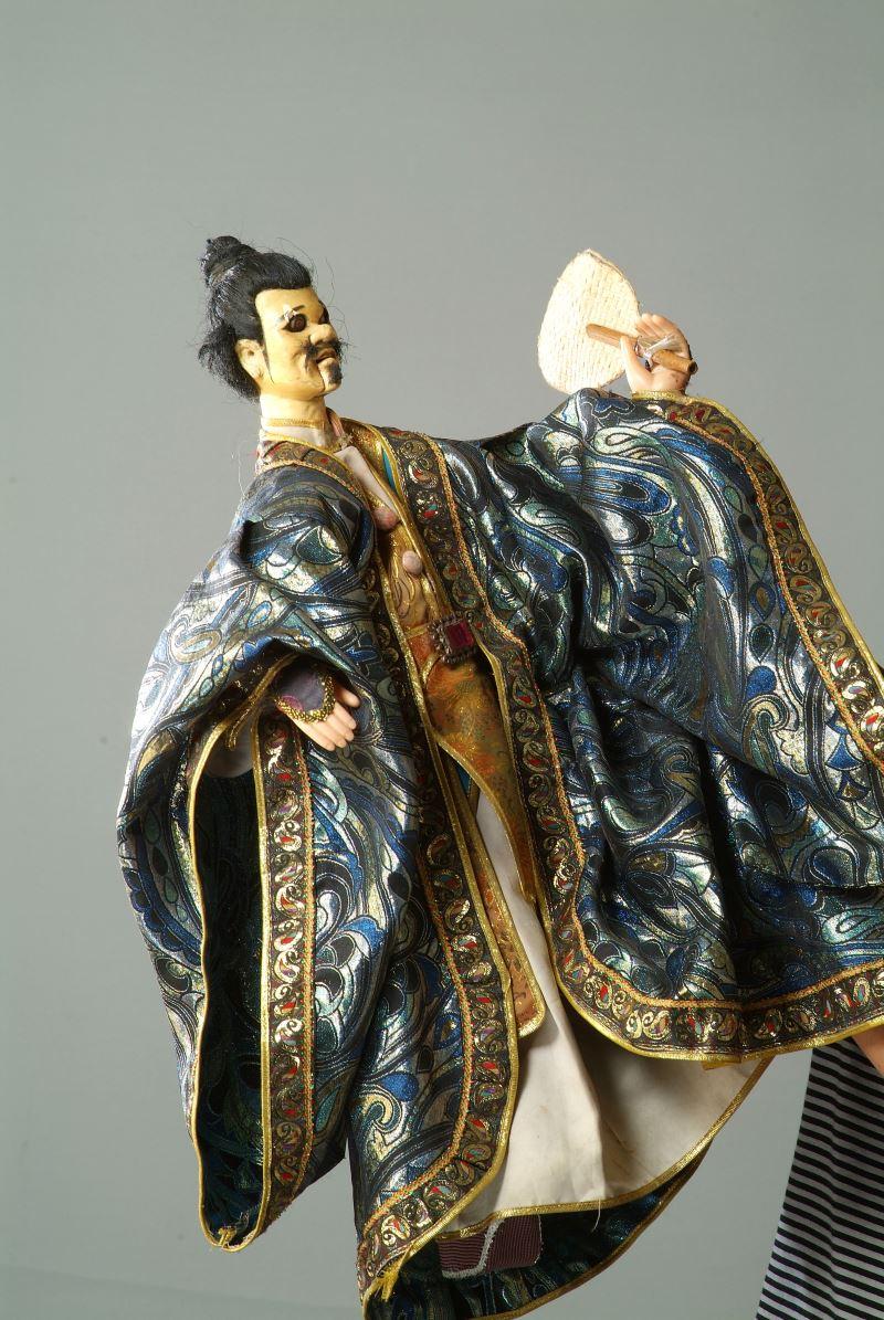 劉三、二齒、怪老子三個角色風靡一時;圖為劉三。