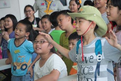 2014兒童工藝夏令營-輕唱離營歌~珍惜相聚時光