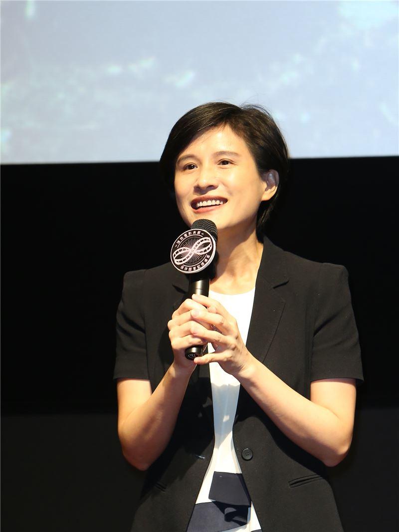 文化部長鄭麗君出席國影中心自主修復電影發表會
