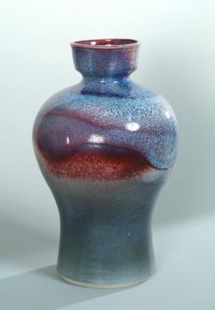 藍寶石釉瓶