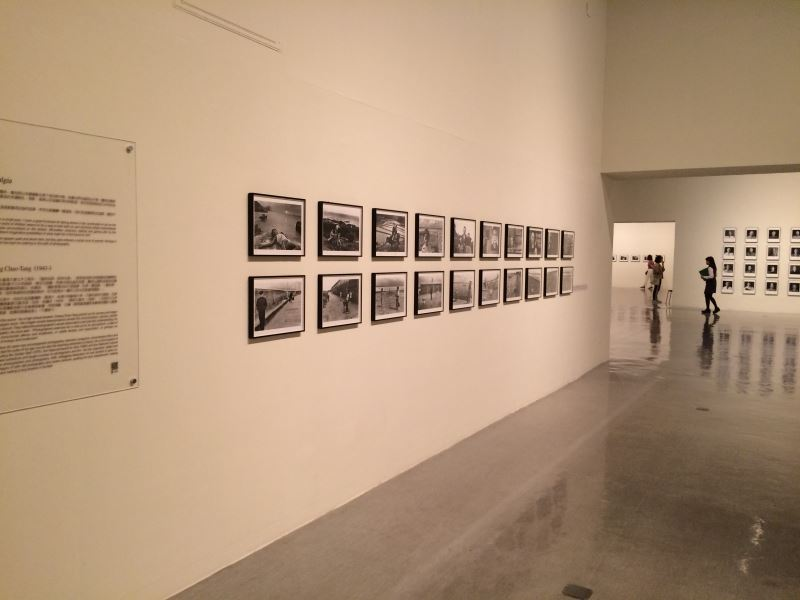 國美館「回望─臺灣攝影家的島嶼凝視 1970s - 1990s」展場 (3)