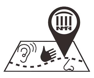 多感官體驗地圖及點字版簡介的符號