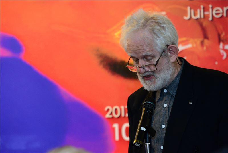 澳洲雪梨大學藝術史系榮譽教授John CLARK致詞