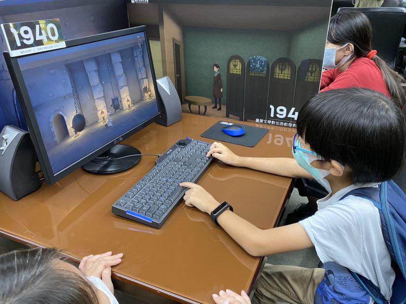 數位遊戲讓小朋友更易於親近文學