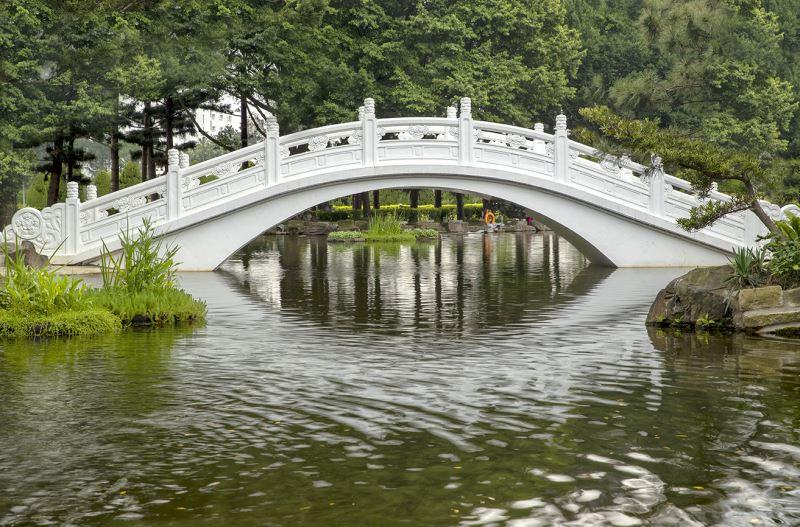 雲漢池拱橋與浮島