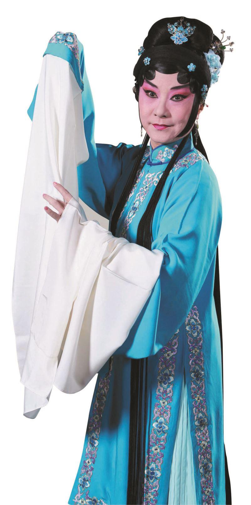 新編戲曲《看瓜別.後》朱民玲飾演李三娘。