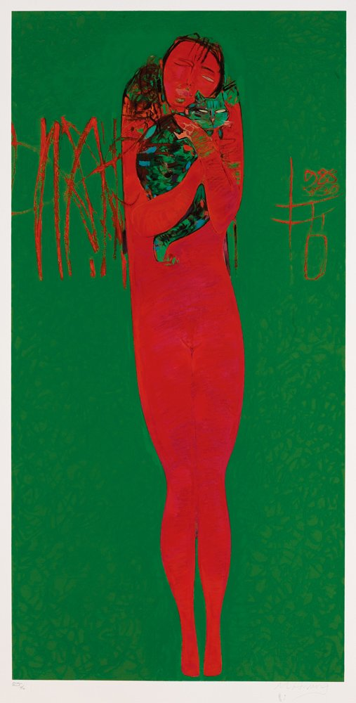 HUANG Ming-je〈King's Dream〉Printmaking 152×300 cm