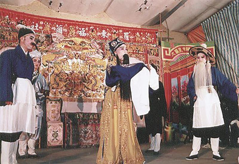 吳安琪飾演《過秦嶺》中的韓愈。