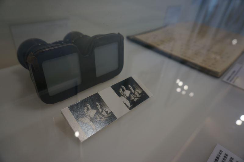 光影如鏡-玻璃乾版影像展_立體影像看片器