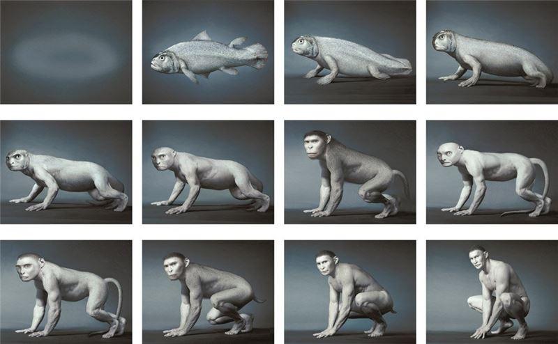 李小鏡〈源〉1999 C Print 40×53 cm×12 pieces