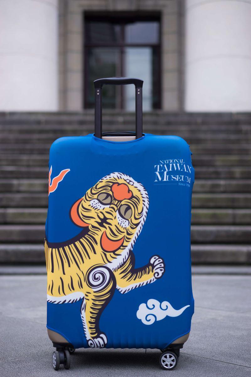 行李箱套-背面