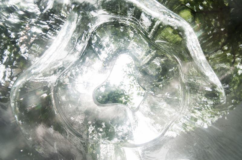 「類生態光學冥想屋」玻璃模型(自然洋行提供)