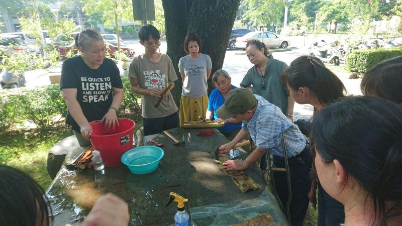 樹皮工藝教學