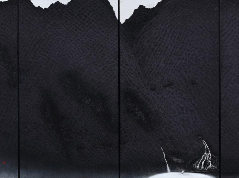 水墨類中山獎-陳世航〈仙山圖〉173x228-2020