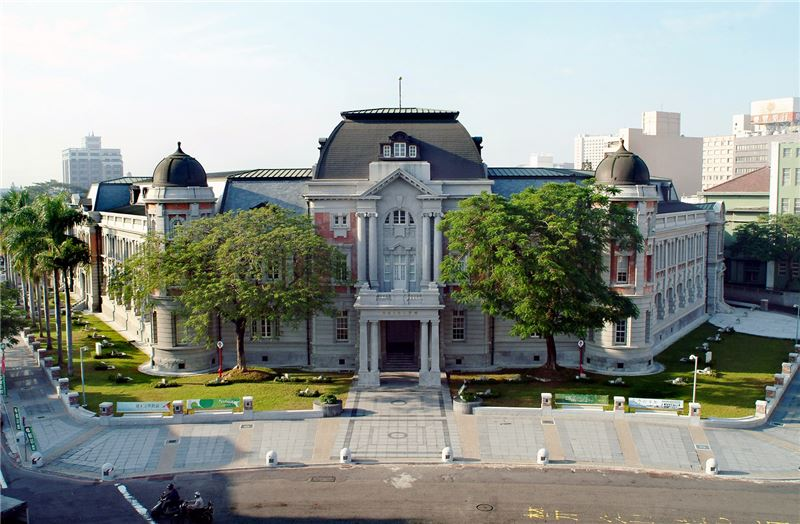 臺灣文學館外觀照片