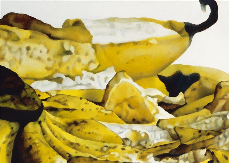 卓有瑞〈香蕉系列之七〉局部圖