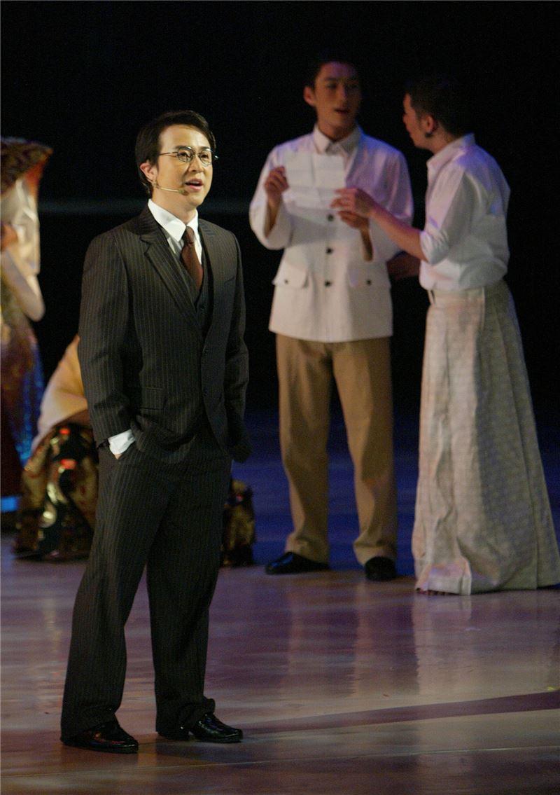 舞台劇《四月望雨》於2007年首演(來源/中央社)