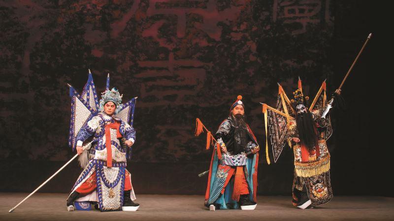 房國彥於2018年為戲點子工作坊《風起雲揚.新趙雲》所做的舞台設計。
