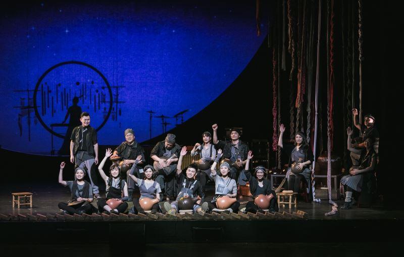 朱宗慶打擊樂團-擊樂劇場《泥巴》 ©財團法人擊樂文教基金會