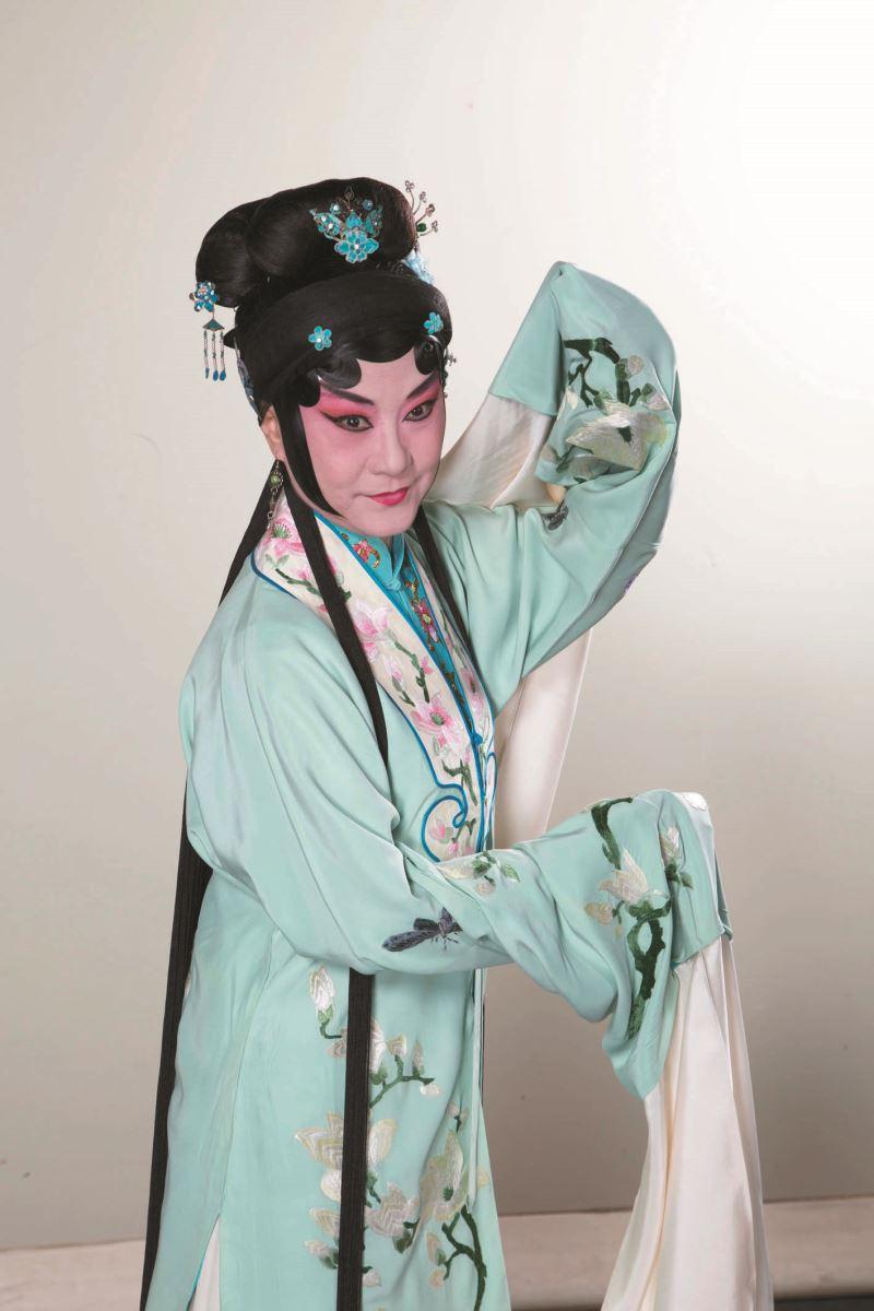 國立傳統藝術中心開枝散葉新作發表計畫《看瓜別.後》,朱民玲飾演李三娘,2020年11月底登場。