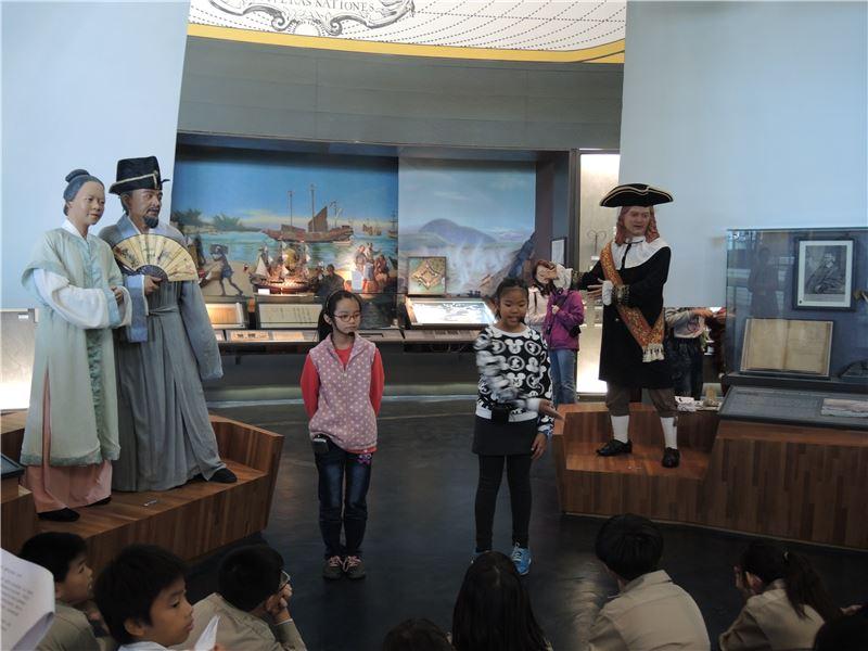 和順專案:透過小朋友的戲劇導覽,以趣味的展演方式分享臺灣歷史內涵。