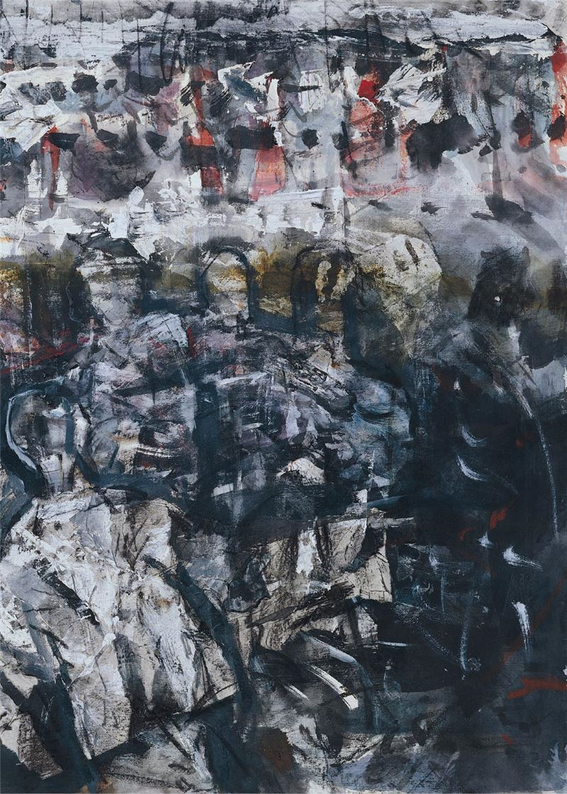 HUNG Gen-shen〈Black Plot No. 21〉Detail