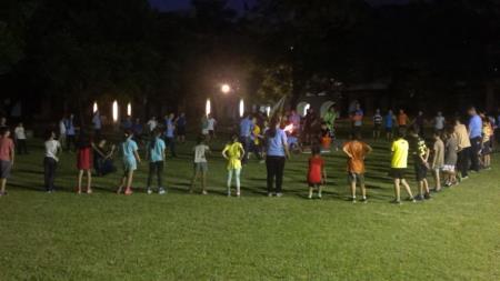2016兒童工藝夏令營-營火晚會
