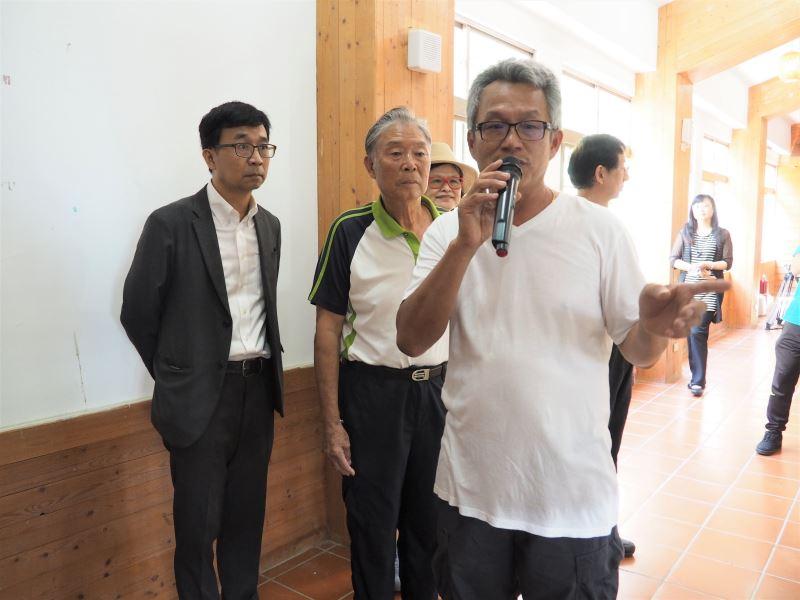 20200813圖說鹿窟事件特展開展#南港茶製廠-潘世賢先生(右一)導覽