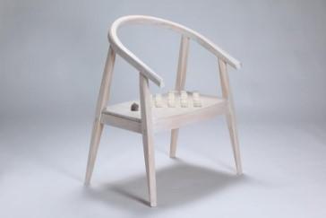 陳俊位作品「現代明式圈椅」圖