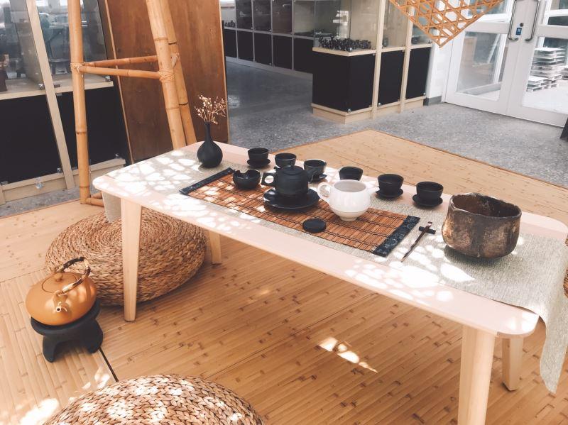 茶空間展示