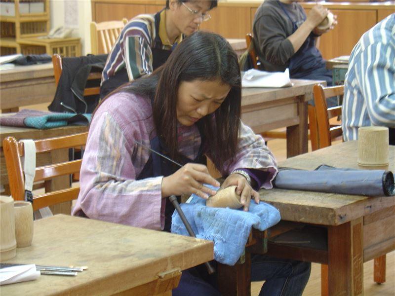 竹雕工藝基礎班-學習竹材陰雕基本技法