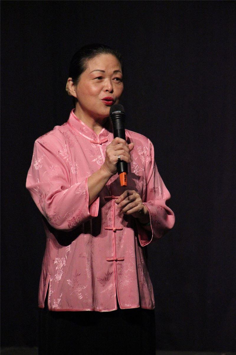 文化部登錄重要傳統藝術南管戲曲保存者吳素霞女士