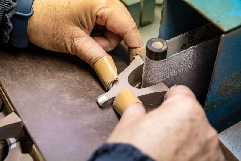 古箏雁柱的製作方法。