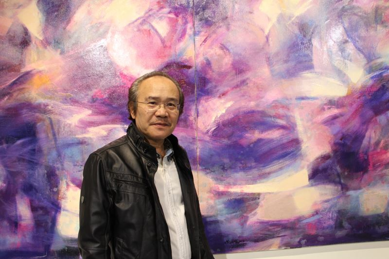 林憲茂老師與其作品