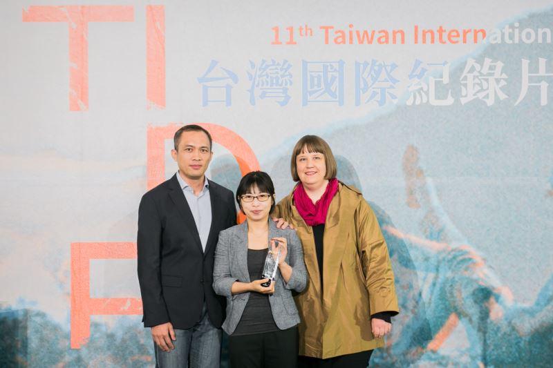 2018TIDF頒獎典禮台灣競賽首獎《日常對話》導演黃惠偵