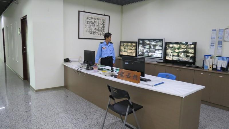 服務台與服務人員照片