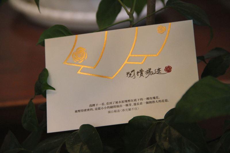 臺文館限時發送年年春暖明信片