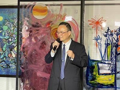 文化部蕭宗煌政務次長致詞。