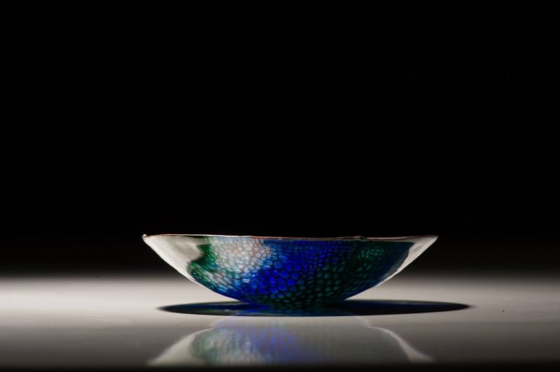Enamel art by Wu Ching-chih.