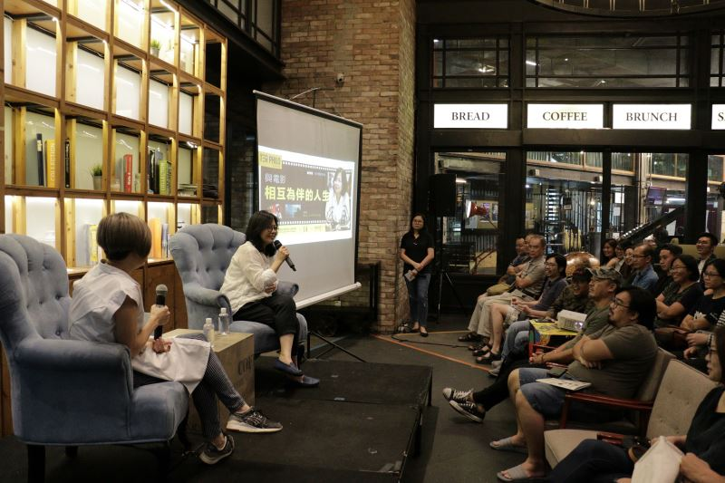 導演姜秀瓊以「與電影相互為伴的人生」為主題進行分享