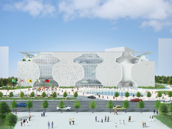 The Taichung National Opera House, designed by Japanese architect Toyo Ito, is scheduled to be completed in 2014.