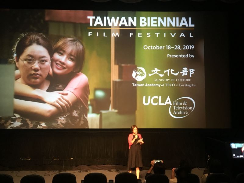 Emma Yang, director of the Taiwan Academy in Los Angeles.