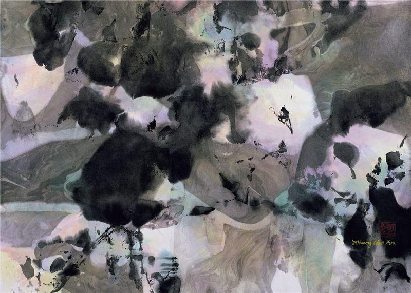 Huang Chau-hu〈Spring Breeze〉Detail
