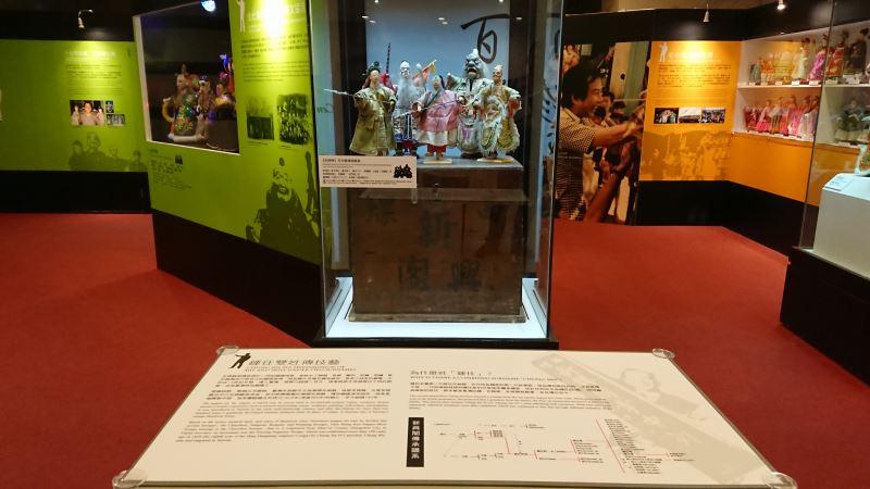 本次展覽展出的《封神榜》戲偶,由新興閣第三代傳人鍾任秀智傳承至今,已有一百多年的歷史。